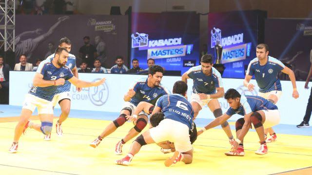 kabaddi masters dubai 2018 iran vs india top tackles